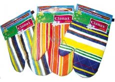 Clanax Kuchyňská chňapka s magnetem, různé motivy a barvy 17 x 25 cm 1 kus