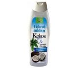 Bione Cosmetics Bio Kokos & Vitamin E Allanolin výživné tělové mléko 500 ml