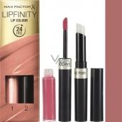 Max Factor Lipfinity Lip Colour rtěnka a lesk 350 Essential Brown 2,3 ml a 1,9 g