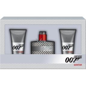 James Bond 007 Quantum toaletní voda pro muže 50 ml + 2 x sprchový gel 50 ml dárková sada