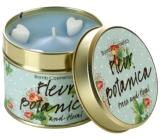 Bomb Cosmetics Botanické kvítí Vonná přírodní, ručně vyrobena svíčka v plechové dóze hoří až 35 hodin