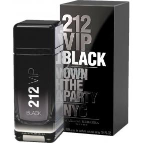 Carolina Herrera 212 VIP Men Black parfémovaná voda pro muže 100 ml