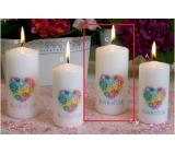 Lima S Věnováním Babičce svíčka s obtiskem válec 60 x 120 mm 1 kus