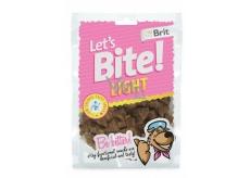 Brit Lets Bite Light nízkokalorický pamlsek dplňkové krmivo pro psy 150 g