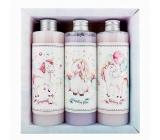 Bohemia Gifts Jednorožec XL sprchový gel 250 ml + šampon na vlasy 250 ml + koupelová pěna 250 ml, pro děti kosmetická sada