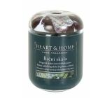 Heart & Home Říční skála Sojová vonná svíčka střední hoří až 30 hodin 110 g