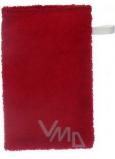 Froté rukavice s poutkem různé barvy 21 x 13 cm 1 kus