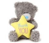 Me to You Medvídek plyšový s hvězdičkou a nápisem Děkuji 10,5 cm