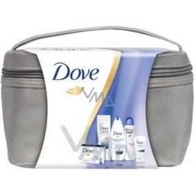 Dove Original taška deodorant sprej 150 ml + sprchový gel 250 ml + mýdlo 100 g + tělové mléko 250 ml + krém 75 ml, kosmetická sada