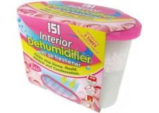 151 Interior Dehumidifier Rose odstraňovač vlhkosti s osvěžovačem vzduchu 300 g