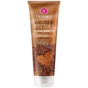 Dermacol Aroma Ritual Irská káva Opojný sprchový gel 250 ml