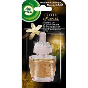 Air Wick Ebony & Madagascan Vanilla Elektrický osvěžovač náhradní náplň 19 ml
