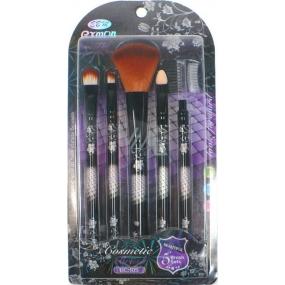 EBM Exmon Cosmetic Brush sada kosmetických štětců 5 kusů Set