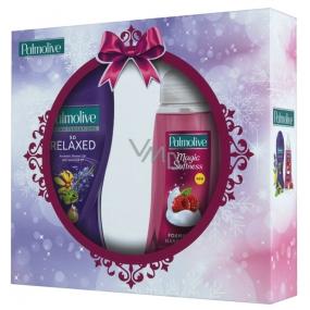 Palmolive Hebká relaxace Aroma Sensations So Relaxed sprchový gel 250 ml + Magic Softness Raspberry tekuté mýdlo 250 ml, kosmetická sada