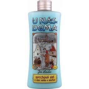 Bohemia Josef Lada Jablko a Skořice krémový sprchový gel 250 ml