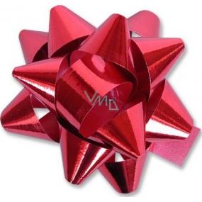 Nekupto Hvězdice střední metal červená HX 6,5 cm