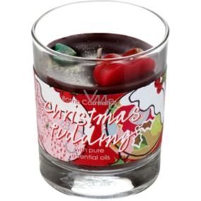 Bomb Cosmetics Vánoční puding - Christmas pudding Vonná přírodní, ručně vyrobena svíčka ve skle hoří až 35 hodin