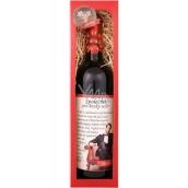 Bohemia Gifts Merlot Společník pro hezký večer červené dárkové víno 750 ml