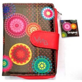 Albi Original Designová peněženka z koženky Arabesky 10 x 13 cm