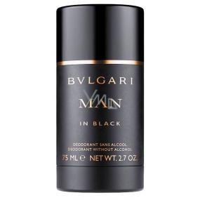 Bvlgari Man In Black kuličkový deodorant roll-on pro muže 75 ml