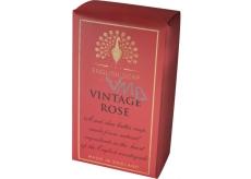 English Soap Pure Vintage Růže Přírodní parfémované mýdlo s bambuckým máslem 200 g
