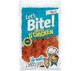 Brit Lets Bite Twister Kuře Dolńkové krmivo pro psy 80g 14ks kousky