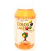 Kittfort Color Line tekutá malířská barva Oranžová 100 g