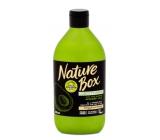 Nature Box Avokádo Regenerační kondicionér oplachový pro lesk se 100% za studena lisovaným olejem, vhodné pro vegany 385 ml