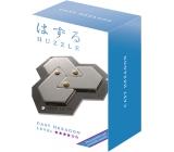 Huzzle Cast Hexagon kovový hlavolam, obtížnost 4