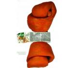 Salač Uzel buvolí Žvýkací uzel z buvolí kůže přírodní doplňkové krmivo 20 - 22,5 cm zauzený