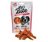 Brit Lets Bite Lososové proužky doplňkové krmivo pro psy 80 g