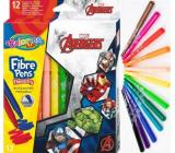 Colorino Fixy Marvel Avengers 12 barev
