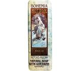 Bohemia Alfons Mucha Art Nouveau toaletní mýdlo s glycerinem a aquaminerály 125 g