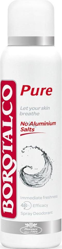 Borotalco Pure antiperspirant deodorant sprej uisex 150 ml