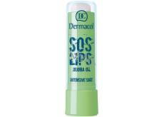 Dermacol SOS Lips Intensive Care SPF15 balzám na rty Almond 3,5 ml