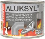 Aluksyl Silikonová vypalovací barva Stříbrná 0910 80 g