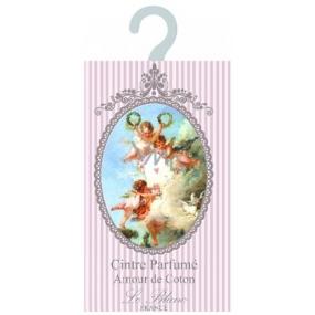 Le Blanc Amour de Coton Vonný sáček ramínko Bavlna 17,5 x 11 cm 8 g