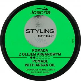 Joanna Styling Effect Pomade with Argan Oil pomáda na vlasy 40 g