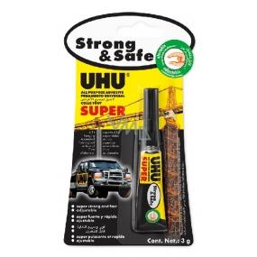 Uhu Alleskleber Super Strong & Safe univerzální lepidlo pro rychlé opravy 3 g