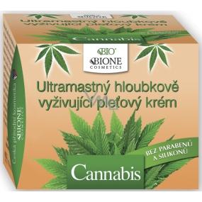 Bione Cosmetics Cannabis Ultramastný hloubkově vyživující pleťový krém 51 ml