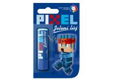 Regina Pixel Jelení lůj pomáda na rty pro kluky s příchutí Bubble Gum 4,5 g