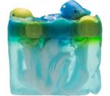 Bomb Cosmetics Planeta máty Přírodní glycerínové mýdlo 100 g
