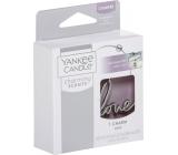 Yankee Candle Charming Scents kovový přívěsek Love na visačku do auta