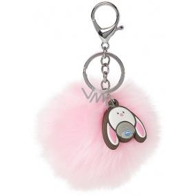Me to You My Dinky Bear klíčenka Pom Pom růžová 7 cm