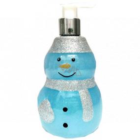 Salsa Collection Shining Star Sněhulák modrý sprchový gel dávkovač 440 ml