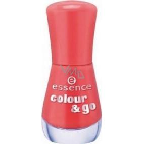Essence Colour & Go lak na nehty 115 Redvolution 8 ml