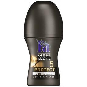 Fa Men Xtreme Protect 5 kuličkový deodorant roll-on pro muže 50 ml