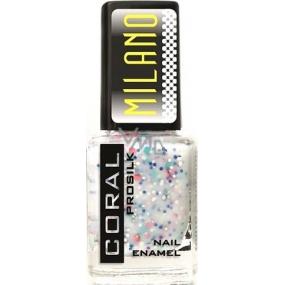 Delia Cosmetics Milano Coral Prosilk Nail Enamel lak na nehty M04 11 ml