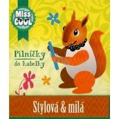 Nekupto Miss Cool Pilníčky na nehty Veverka Stylová & milá 6 kusů 1 balení