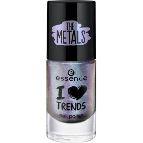 Essence I Love Trends Nail Polish The Metals lak na nehty 24 Chrome Paradise 8 ml